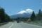 河口湖ICから見えた富士山