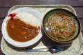 カレー+かけそばセット(700円-100円)