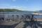 山中湖とチャリ三台