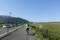 朝霧高原を走る