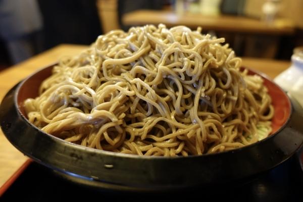 富士山のようなダッタン蕎麦