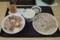 豚すき焼き丼とおそば【冷】のセット(790円)+そば大盛(100円)