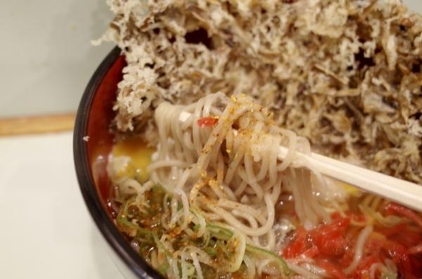 加ト吉の冷凍蕎麦
