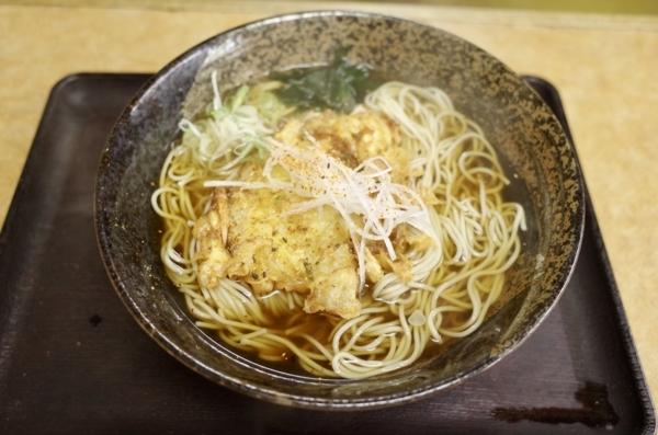 かき揚げ蕎麦・大盛(500円)