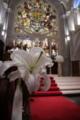 教会の百合