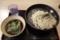 鴨南つけそば 自社麺(600円)