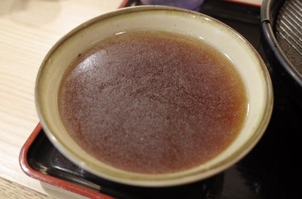 鴨南蕎麦湯