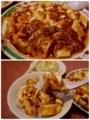 麻婆豆腐で麻婆ライス