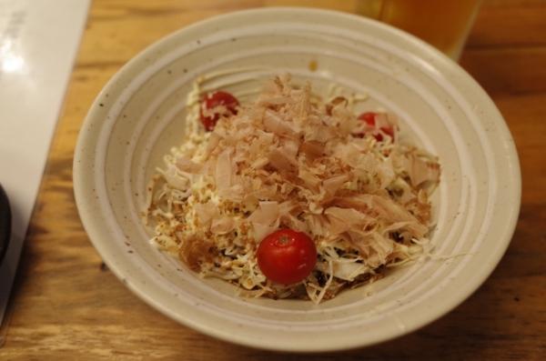 蕎麦サラダ(350円)