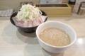 つけ麺大盛半チャーシュー(900円)太麺・ヤサイ増し