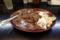 黒い肉カレー・山盛り(890円)+無料トッピング(2、4、9)