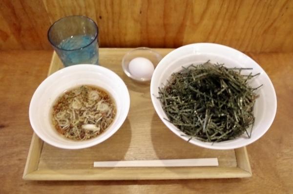 スタミナ冷そば【生卵付】(750円)
