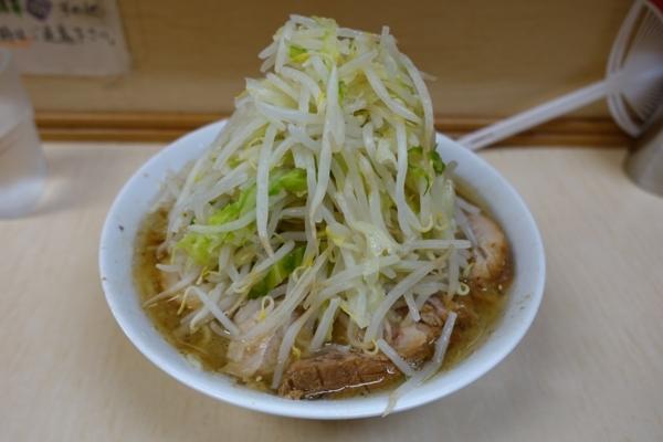 小ラーメン(700円)自動ヤサイ