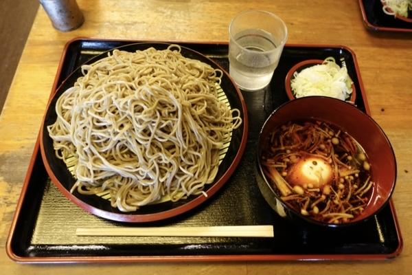 ダッタン蕎麦【大盛550g】(650円)+麻辣汁(150円)