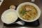 ワンタンメン(750円)+大盛(100円)+半ライス(130円)