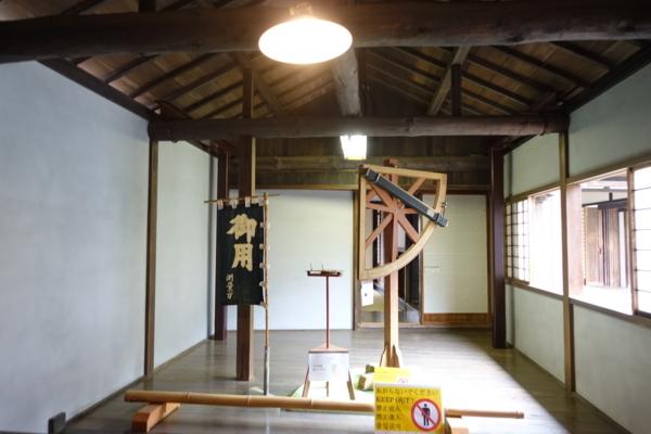 伊能忠敬旧宅内の展示物