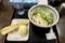 ぶっかけ(330円)+ちくわ天(120円)+半熟卵天(120円)、