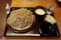 ダッタン蕎麦【大盛550g】(650円)+とろろ(100円)