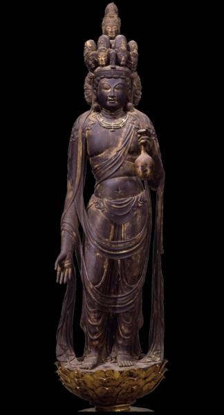 向源寺(渡岸寺観音堂)十一面観音菩薩立像