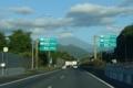 東名の先の富士山