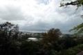 本丸跡から琵琶湖を望む