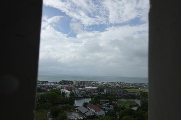 三重櫓からの景色