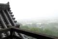 三層から琵琶湖を望む
