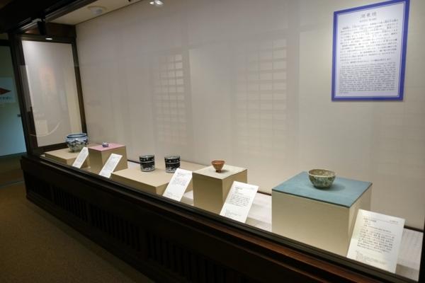 陶磁器の展示