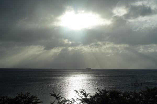 窓から見える多景島