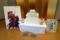 かんぽの宿彦根社員の作った発泡スチロールの彦根城
