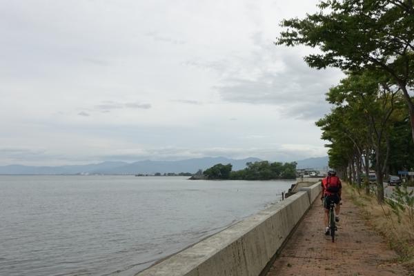 琵琶湖一周スタート
