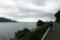 琵琶湖最湖北を進む
