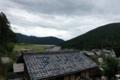 岩隈トンネル手前から琵琶湖を望む