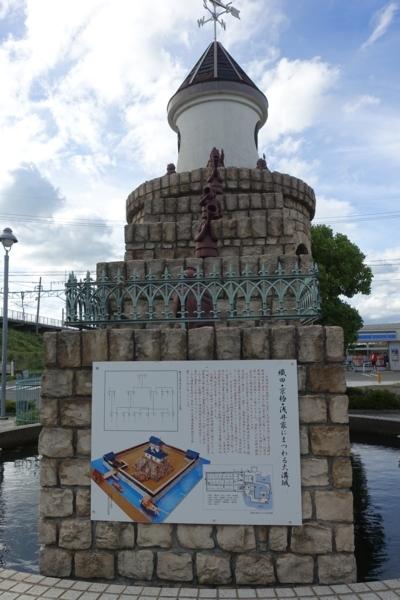 大溝城遺構の案内