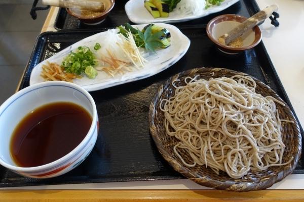 長命そば(1200円)+蕎麦の大盛(250円)