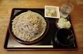 北海道雨竜産地粉蕎麦・新そば【大盛500g】(800円)+納豆(100円)