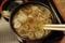 納豆蕎麦湯