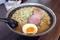 豚醤油麺(700円)+大盛【2玉】(100円)