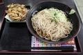 きのこ天そば【冷】(500円)+大盛(100円)