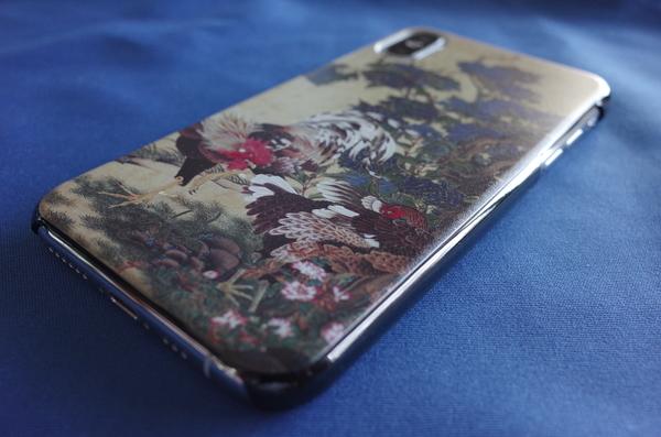 iPhoneXsを装着