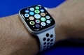 Apple Watch Nike+ Series 4(GPSモデル )  44mm シルバーアルミニウムケース ピ