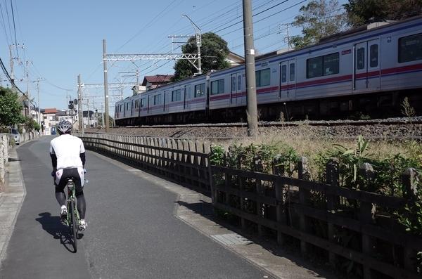 京成線沿いに佐倉