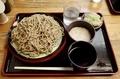 ダッタン蕎麦【大盛550g】(650円)+とろろ(100円)+鯖出汁変更(0円)