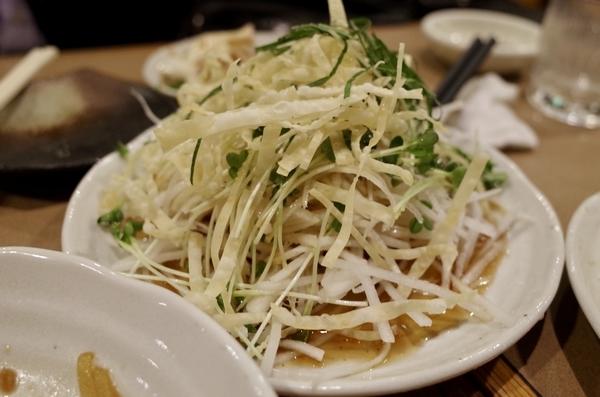 パリパリ大根サラダ(500円)
