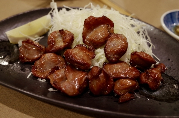 砂肝の唐揚(500円)