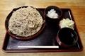 恵み蕎麦【大盛550g】(650円)+大根鬼おろし(50円)