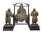傅大士坐像および二童子立像