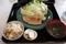 美明豚の生姜焼定食(800円)