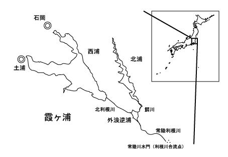 霞ヶ浦全景図