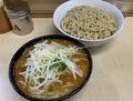 つけ麺(800円)自動ヤサイ